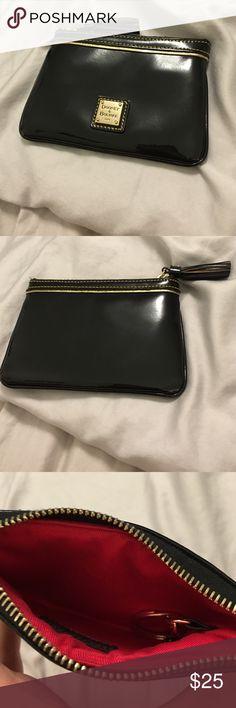 Black dooney & bourke pouch Brand new patent leather dooney and bourke pouch Dooney & Bourke Bags Clutches & Wristlets