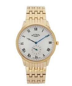 Rotary Medium Swiss Gold Bracelet Watch. c72023af51f