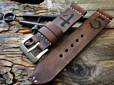 Handmade Watch Strap Ammo Vintage Uhrband Kompatibel Panerai | eBay
