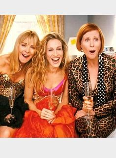 Samantha Jones, Carrie Bradshaw et Miranda Hobbes - Sex and the City.
