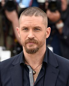 Tom Hardy at an event for Mad Max: Fury Road (2015)