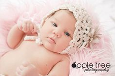 Crochet Pattern for Chantilly Baby Bonnet Hat - 4 sizes, newborn to child - Welcome to sell finished items - pinned by pin4etsy.com