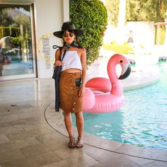 Street Style And More From Our Desert Pool Party with Dolce Vita | The Zoe Report