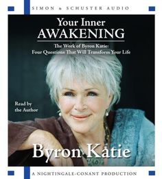 """You are your only hope, because we're not changing until you do. Our job is to keep coming at you, as hard as we can, with everything that angers, upsets, or repulses you, until you understand. We love you that much, whether we're aware of it or not. The whole world is about you.""   ― Byron Katie"