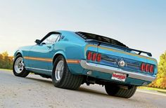 1969 Ford Mustang Mach 1 - Mach on the Wild Side Photo & Image Gallery