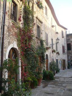 Montemerano, Provincia di Grosseto, Toscana - Italy