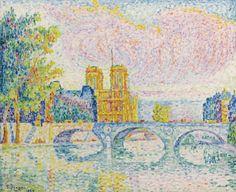 LA CITÉ, PARIS - Paul Signac, 1934 Private collection
