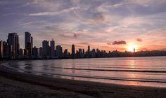 Miami au lever du jour