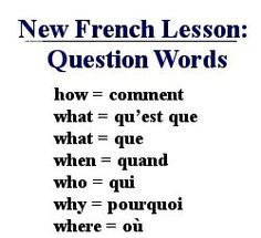 This is a list of French question words. This helps me study for the French question words. French Language Lessons, French Language Learning, Learn A New Language, French Lessons, Spanish Lessons, Spanish Language, Learning Spanish, Spanish Activities, Learning Italian