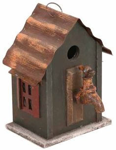 Birdhouses  Garden Decoration BH9020G Birdhouse, 10-Inch, Green Balcony -- This is an Amazon Associate's Pin. Click the image to find out more from the website.
