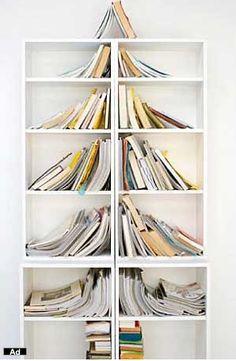 Books as a XMas tree~