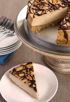 Peanut Butter Cheesecake with Pretzel Crust   Bake or Break