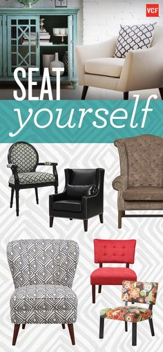Find the perfect seat for any size space! At Value City Furniture, we have all the prints and colors you want!