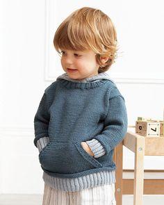 03 – Hooded Sweater | Knitting Fever Yarns & Euro Yarns