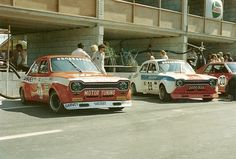 1973 - 12 augustus Zandvoort Trophy #31 / Rafael Barrios (E) - Emilio Zapico (E) - Ford Escort BDA #29 / Peter Hanson (GB) - John Hanson (GB) - Ford Escort BDA #20 / Freddy Kottulinsky (S) - Manfred Schurti (FL) - Toyota Celica