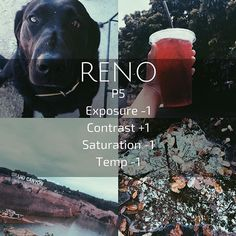 (Reno) brown/dark filter Looks good on most dark photos. Wouldn't recommend for using on selfies because it makes you look either really washed out, or really dark. I used this one as my theme awhile back on my personal. • • #vsco #vscocam #vscothemes #instathemes #browntheme • • Qotd? What's your favorite color? Aotd? Definitely black, Violet, and maroon.