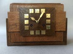 Amsterdam School, School Architecture, Clocks, Holland, Art Nouveau, Arts And Crafts, Wood, Design, Home Decor