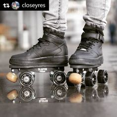 Our @closeyres is testing such a good combo! #rollline_rollerderby #crewrollline #flaneurz #onwheelz by rollline_rollerderby