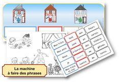 La machine à faire des phrases - Outil pour développer le langage