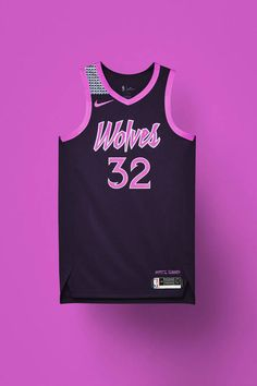 nba city edition minnesota jersey 0819 re square 1600 Los Angeles Clippers, Los Angeles Lakers, Chicago Bulls, Portland Trail Blazers, Custom Basketball Uniforms, Basketball Jersey, Logo Basketball, Jersey Boys, Soccer