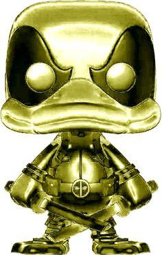 chrome pop - Deadpool duck