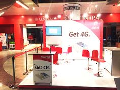 Brand Activation for Airtel 4G Launch. Know about our services http://www.expodisplayservice.ae/allproducts.asp