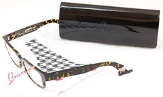 Face A Face Eyeglasses Bocca Smoking 2 2056 Black Spotted Tortoise Plastic Italy #FACEAFACE