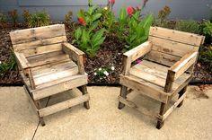 DIY Pallet Chair Collection | Pallet Furniture Plans