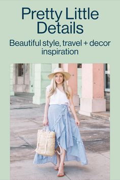 For inspiration on everything lifestyle, follow Jennifer Ashley. Think beautiful fashion, beauty, travel, home decor and much more.
