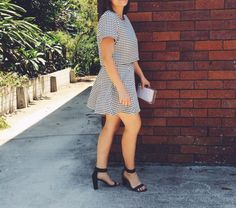 Christmas Party Outfit by Pretty Chuffed. Set: Supre. Hells: Inniu. Sunglesses: Just Jeans DFO JINDALEE https://www.facebook.com/DFOJindaleeQLD