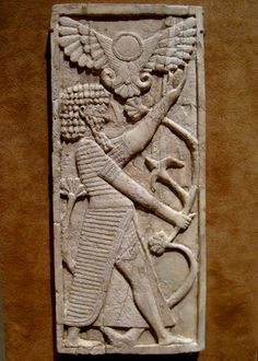 Ivory Assyrian plaque that dates back to the 8th century BC. The Metropolitan Museum of Art, New York City, NY. Photo by Babylon Chronicle