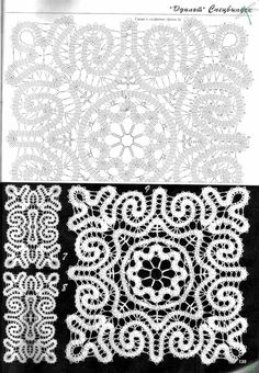 Learn How To Crochet Bruges Lace - Best Knitting Bobbin Lace Patterns, Crochet Doily Patterns, Crochet Chart, Crochet Motif, Crochet Doilies, Crochet Lace, Crochet Stitches, Knitting Stiches, Bruges Lace