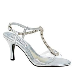 Touch Ups by Benjamin Walk Women's Kristal Shoes Synthetic Silver