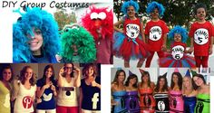 Halloween Costume Ideas for Groups of Children or Adults #groupcostume #costume #halloween