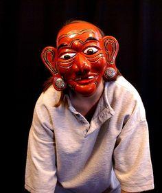 Merdah Mask, Modeled
