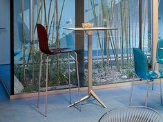 Silla alta con reposapiés PLAYA-SGA by DOMITALIA diseño Fabrizio Batoni