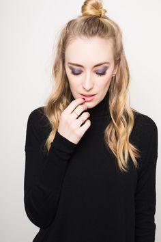 Purple smokey eye by @fionastiles #fionastilesbeauty #makeup #beauty