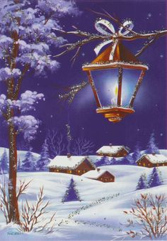 Peaceful Christmas night