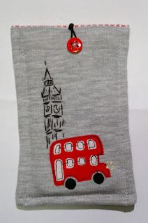 hafticraft: Phone etui -  London