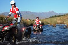 All out Adventures Quad Biking. Book your quad bike trail with All Out Adventures in the Drakensberg today - Dirty Boots Bike Trails, Biking, Quad Bike, Kwazulu Natal, Adventure Activities, South Africa, African, Southern, Pictures