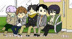 Kirisaki Daiichi - Hara Kazuya, Yamazaki Hiroshi, Furuhashi Koujirou, Seto Kentarou, Hanamiya Makoto