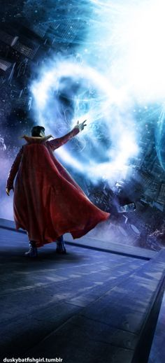 Dr. WHOoooo THE TARDiS ... DR. WHO ...oops Dr . Strange °°