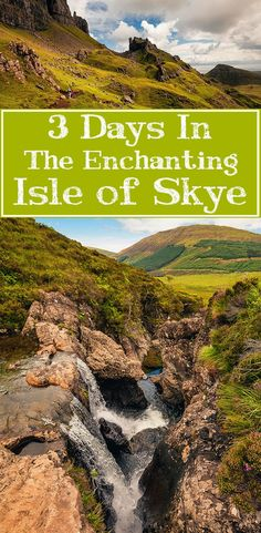 Learn how to make the most of 3 days in Scotland's magical Isle of Skye!