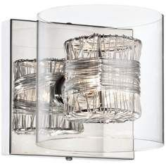Add lighting and style to your room with this enchanting crystal wall sconce from Possini Euro Design. wide x high. Extends 5 from the wall. Takes one maximum 40 watt bulb (not included). Style # 96531 at Lamps Plus. Black Wall Sconce, Rustic Wall Sconces, Bathroom Wall Sconces, Candle Wall Sconces, Outdoor Wall Sconce, Wall Sconce Lighting, House Lighting, Bathroom Lighting, Basement Lighting