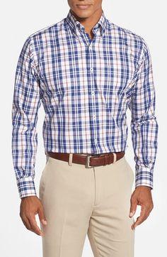 Peter Millar 'Benecia' Regular Fit Plaid Sport Shirt