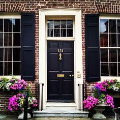 Charming Charleston doorways