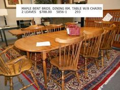 Kitchen dining room on pinterest leaves repeat and chairs for S bent dining room furniture