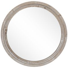 Mirrors & Wall Decor - Home Decor & Frames Modern Mirror Design, Wall Mirror Online, Round Mirrors, Round Wood Mirror, Circular Mirror, Whitewash Wood, Print Coupons, Metal Walls, Hobby Lobby