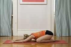 The Best Yoga for Women- childs pose