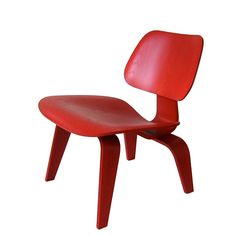 Charles Eames LCW - the red one. :)